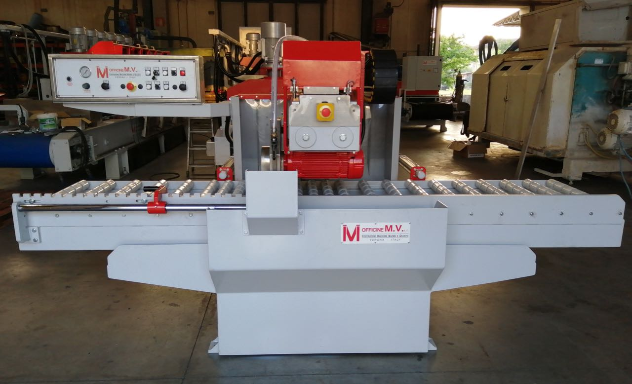 marble facing machine with electro-spindle