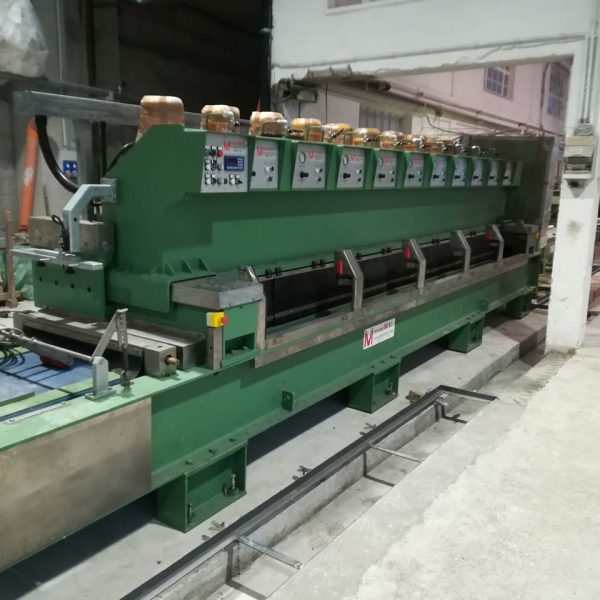 Marmette 600 line for marble with resin machine and UV oven