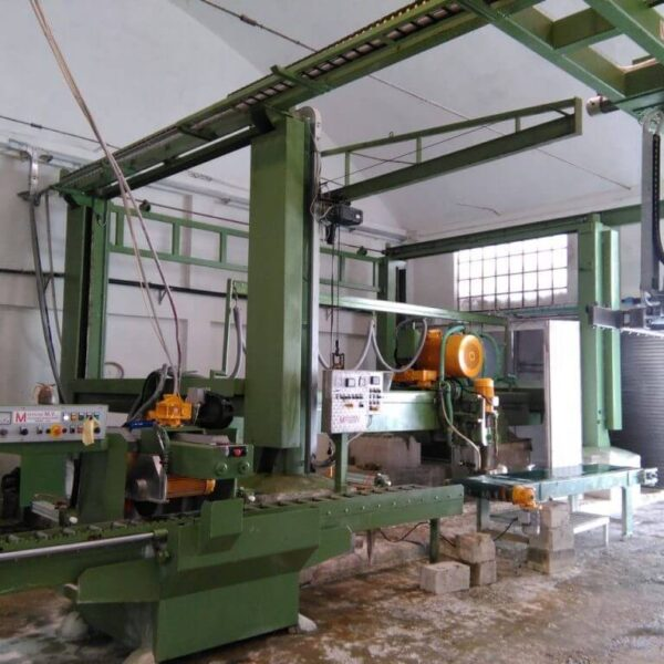 block cutter plant in Verona, Veneto